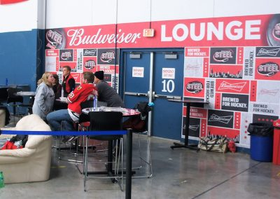 Fox Valley Ice Arena Budweiser Lounge