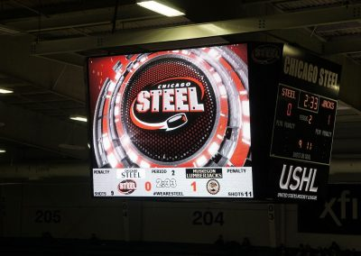 Fox Valley Ice Arena Video Board