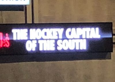 The Hockey Capital Of The South
