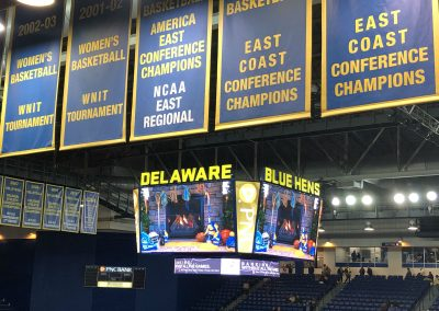 Banners And New Scoreboard
