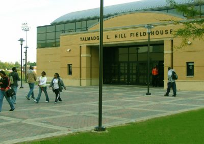 Hill Field House Entrance