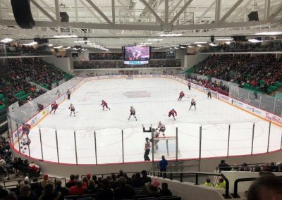 End View at CAA Arena