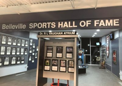 Belleville Sports Hall of Fame at CAA Arena