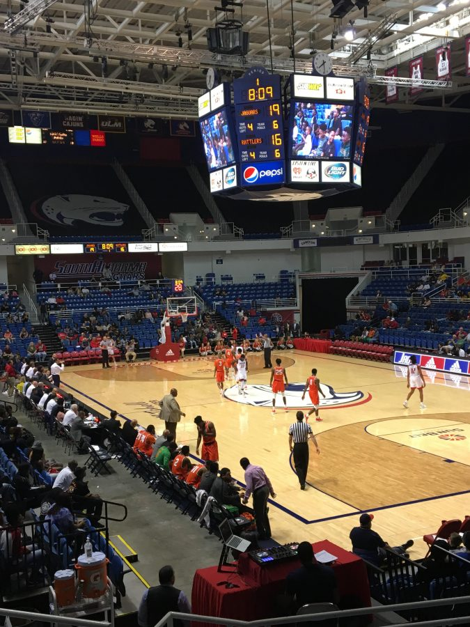 Mitchell Center, South Alabama Jaguars in Action