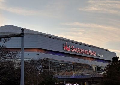 Outside Of The Smoothie King Center