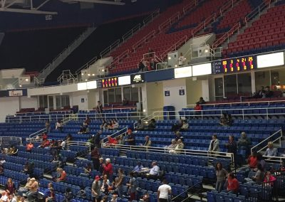South Alabama Jaguars Fans at Mitchell Center