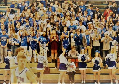 Tipton Blue Devils Student Section