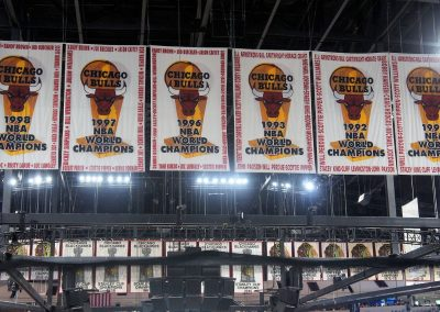 United Center Banners
