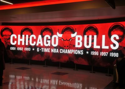 United Center NBA Champs