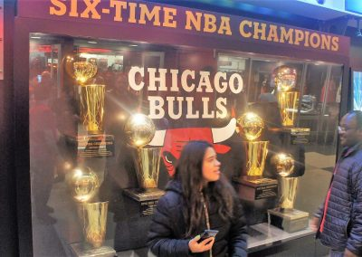 United Center Trophies