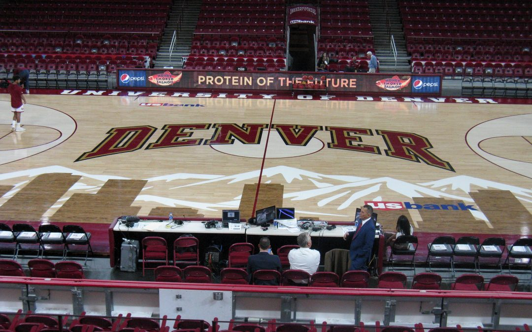 Magness Arena – Denver Pioneers Basketball