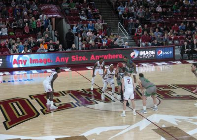 Magness Arena Tip Off