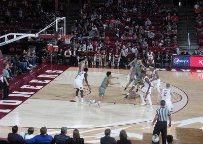 Magness Arena Game Action