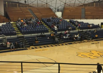A.E. Wood Coliseum, View from the Grandstand