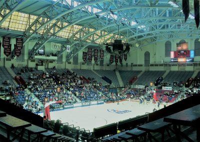 The Palestra Ceiling