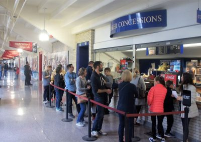 The Palestra Concessions