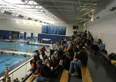 Seating Area at The Gettysburg College Bullets Pool