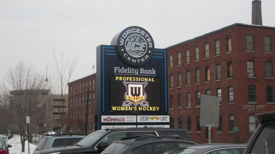 Worcester Ice Center Marquee