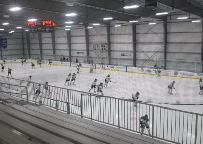Warmups at Worcester Ice Center