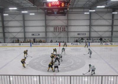 Faceoff at Worcester Ice Center
