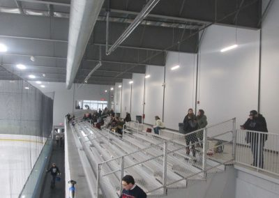 Seating at Worcester Ice Center