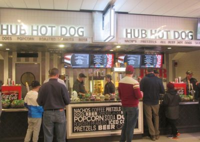 Concessions at TD Garden