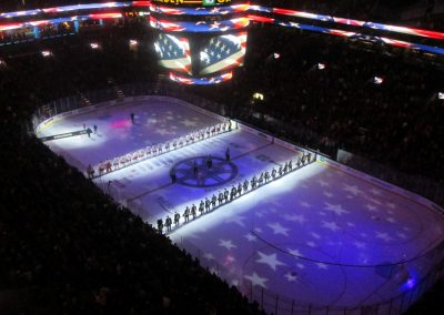 National Anthem at The Beanpot
