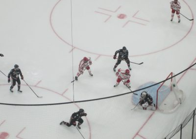 Game Action at The Beanpot