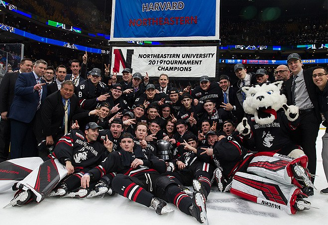 TD Garden – Beanpot Tournament