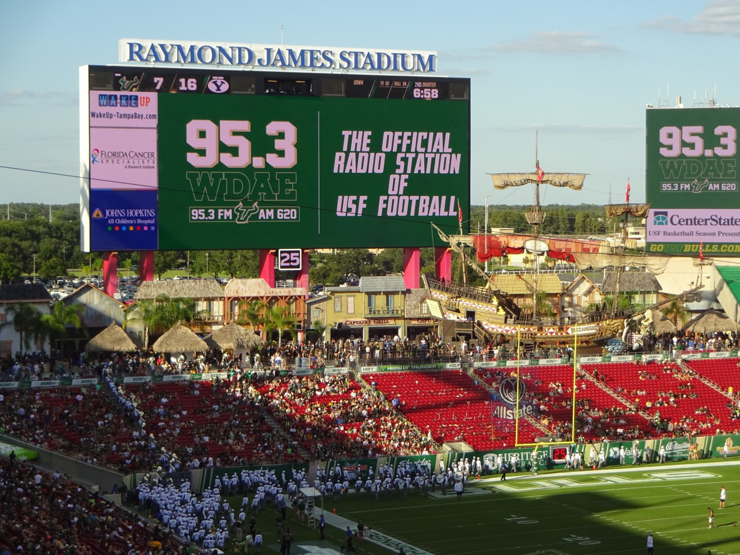 raymond james stadium south florida bulls stadium journey raymond james stadium south florida