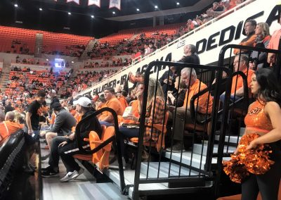 Gallagher-Iba Arena Floor Seating
