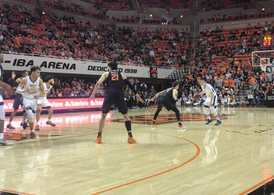 Gallagher-Iba Arena Game Action
