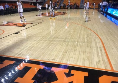 Gallagher-Iba Arena Maple Floor