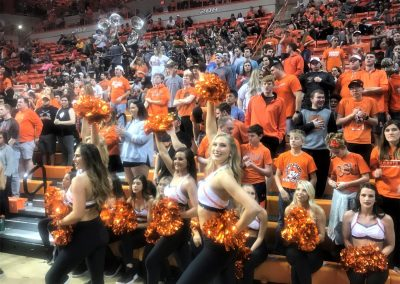 Gallagher-Iba Arena, OSU Student Section