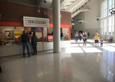 Gallagher-Iba Arena, Upper Level Concourse and Concessions