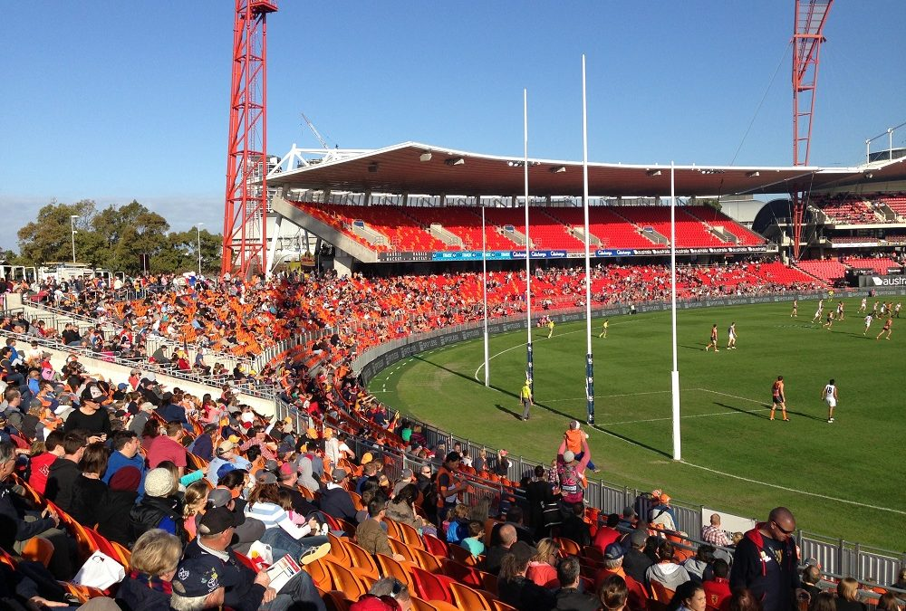 Home of GWS Renamed Giants Stadium
