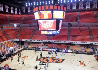 Interior of Gallagher-Iba Arena