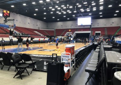 Jenkins Arena at the RP Funding Center, Floor View