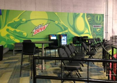 Jenkins Arena at the RP Funding Center, Mountain Dew Green Lounge