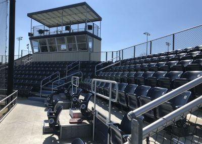 Main Stands And Press Box