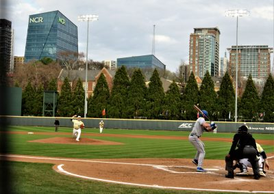 Midtown Looms Over Center Field