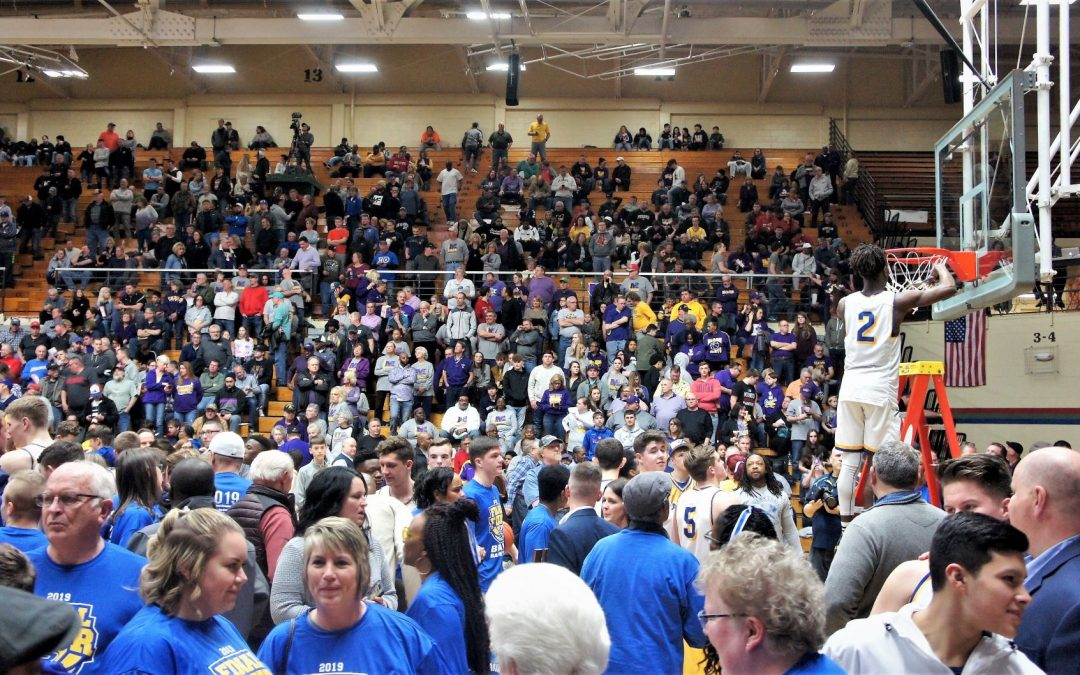 Scenes from a Semi-State Game in Indiana