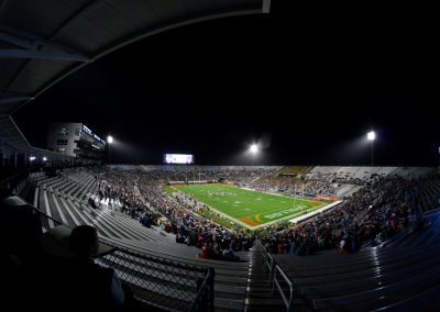 Spectrum Stadium Corner Seating