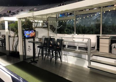 Spectrum Stadium End Zone Cabanas
