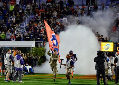 Spectrum Stadium, Orlando Apollos Player Intros