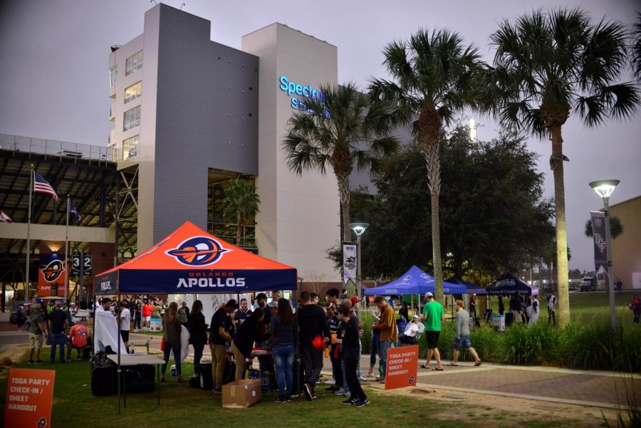 Spectrum Stadium Pre-game Tailgating
