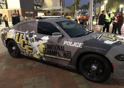 Spectrum Stadium, UCF Police Car