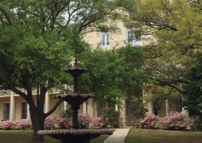 Stan Galle Field, Beautiful Spring Hill College Campus