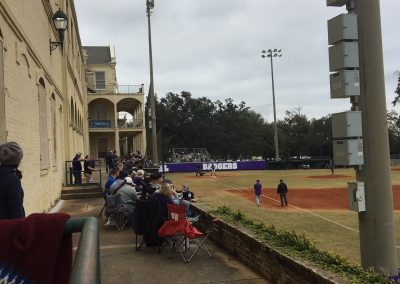 Stan Galle Field, Fans on the Concourse