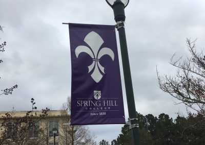 Stan Galle Field, Spring Hill College Sign